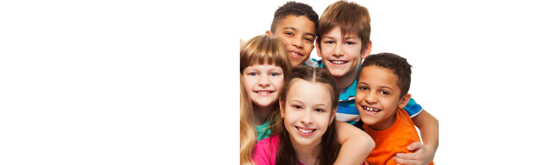 caucasian children
